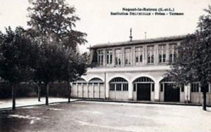 Institution Delfeuille - Préau - Terrasses