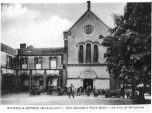 Petit séminaire Notre-Dame - La cour de récréation